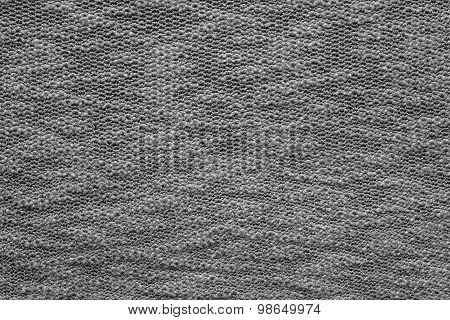 Abstract Texture Jersey Of Dark Gray Color