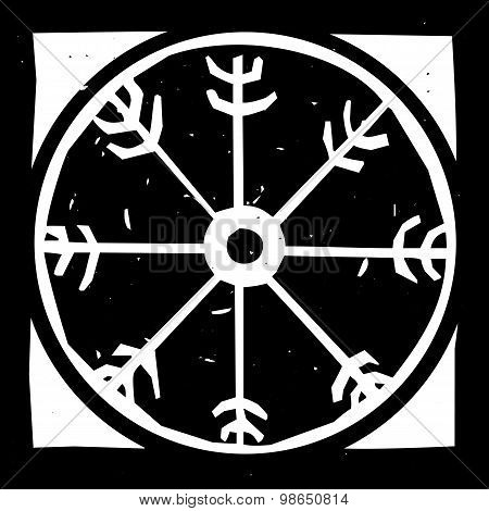 Viking Wheel Symbol