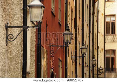 Gamla Stan Street Lamps