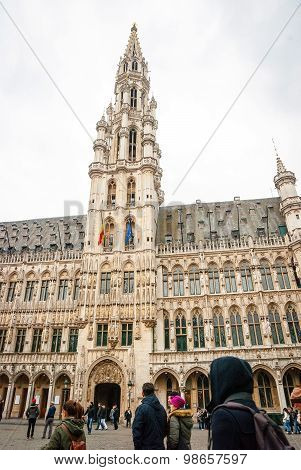 Brussels Main Square And City Hall