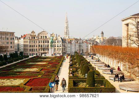 Brussels Skyline
