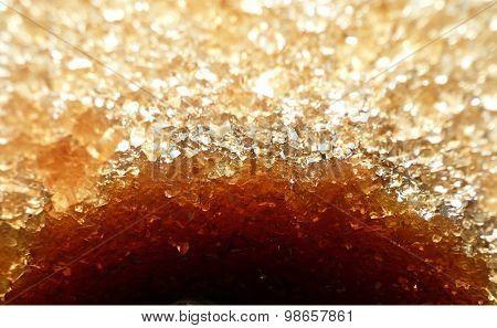 Sugar cane crystals