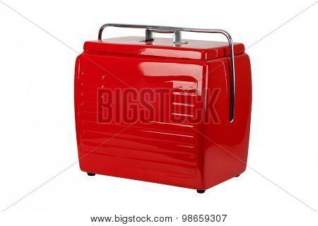 Cooler red vintage