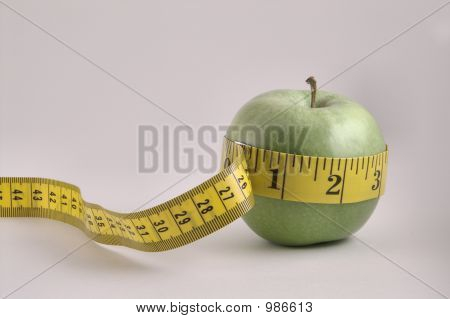Apple And Tapemeasure
