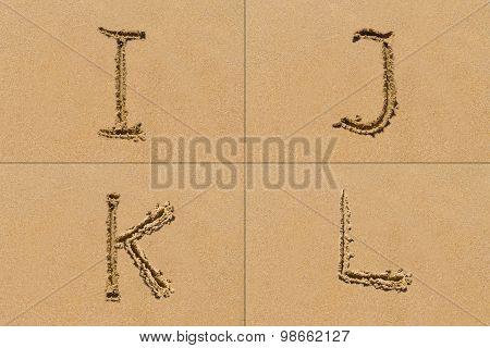 Sand Letter Sets