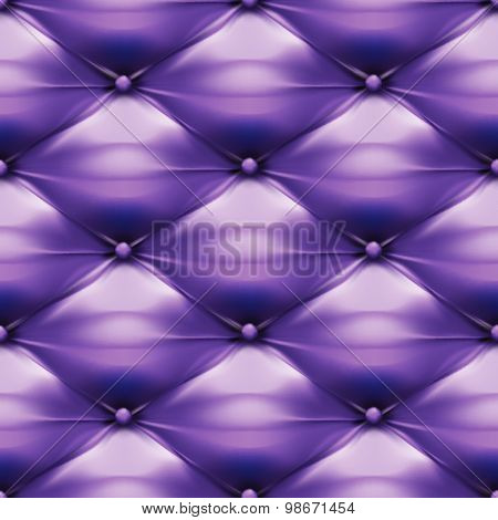 Vector Of Purple Upholstery Leather Pattern Background