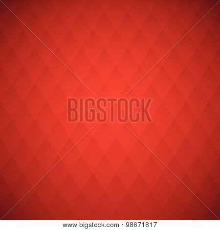 Vector Red Squares, Abstract Background
