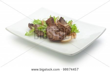 Fried Beef Liver