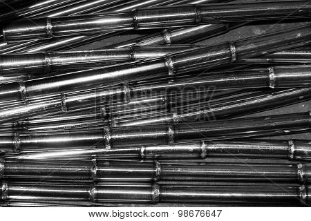 Welding Of Metal Round Tube