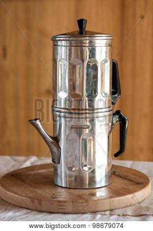 Neapolitan Coffee Pot