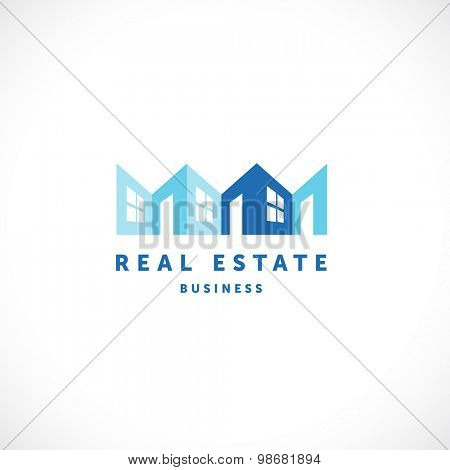 Real estate vector illustration - realty business concept