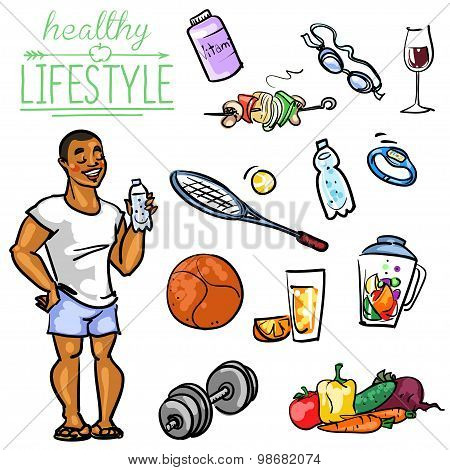 Healthy Lifestyle - Man