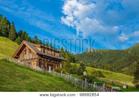 Old Wooden Hut Cabin