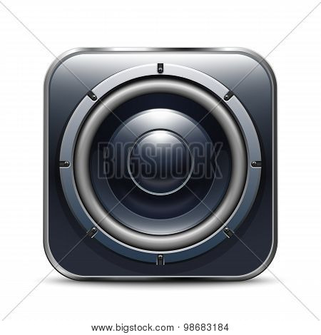 Audio Speaker App Icon