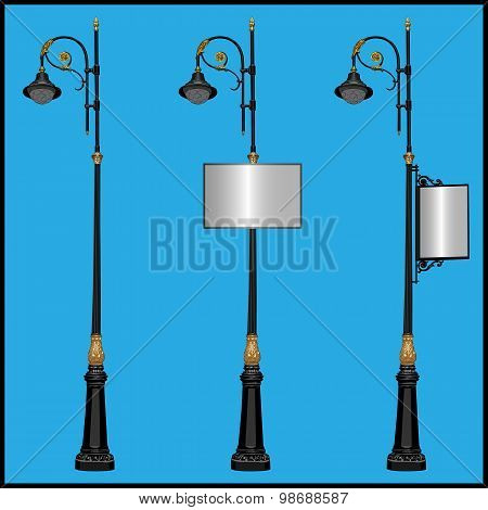 Three Lamppost