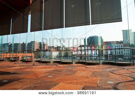 View Over Antwerp From Musem Aan Der Stroom