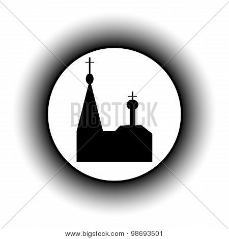 Orthodox Church Button.