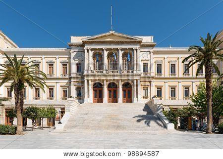 Classic municipal building