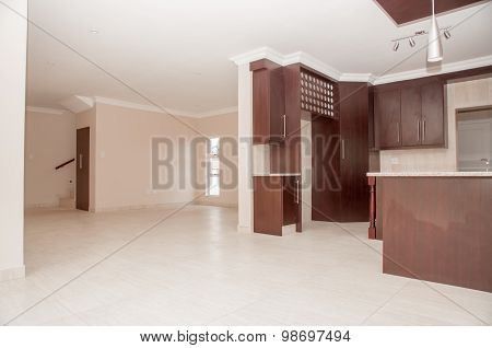 Kitchen Of Newly Build House
