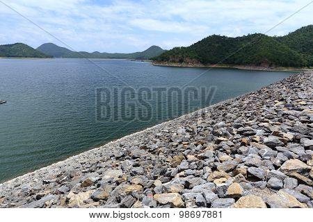 Srinakarin dam in Thailand