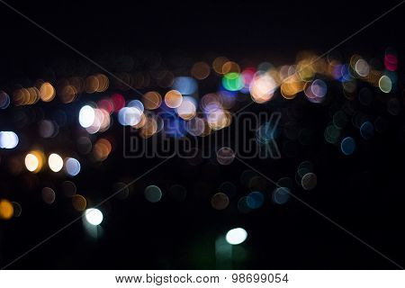 Cityscape Of Sarajevo Out Of Focus