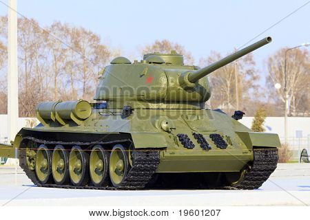 Soviet tank model t34