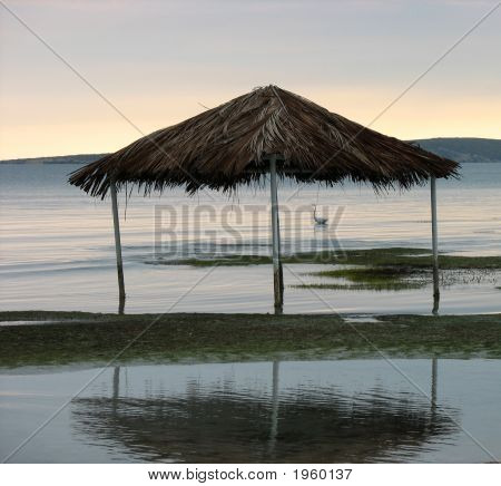 Beach Gazebo In Puerto Rico