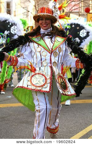 New Years day mummers parade 2008
