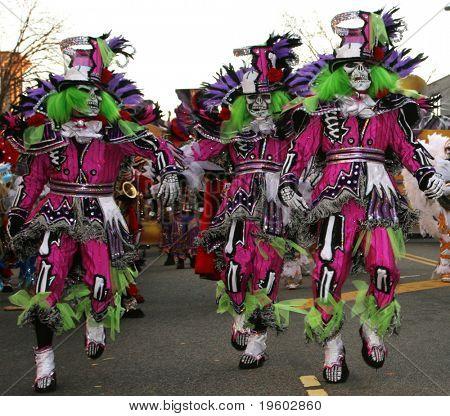 Philadelphia new years day mummers parade 2008