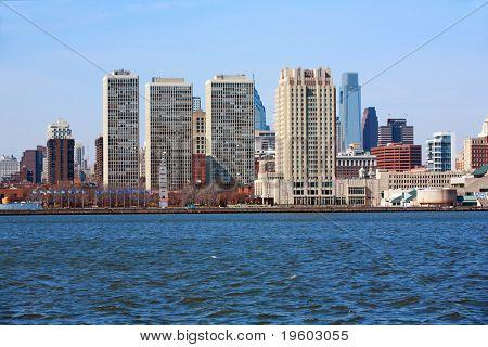 Philadelphia Pa. city skyline