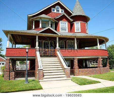 image of a beautiful American home