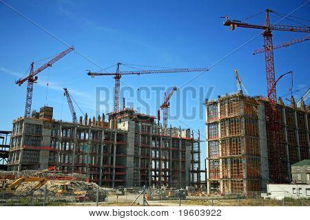 Bau Baustelle
