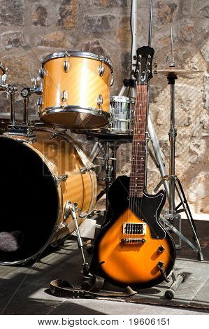 Instruments On Stage