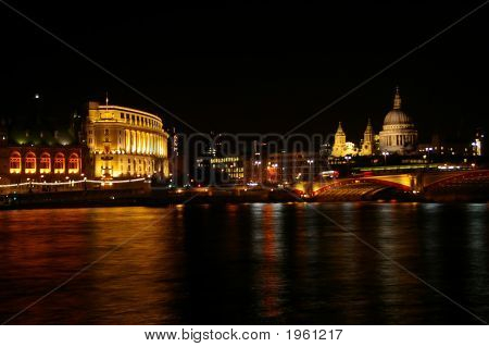 St Pauls From South Bank, London