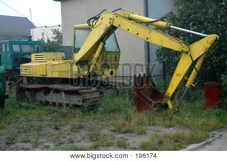 Unused Yellow Digger
