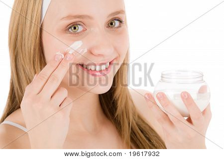 Facial Care Teenager