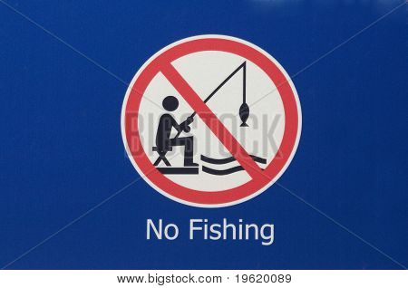Ninguna señal de pesca