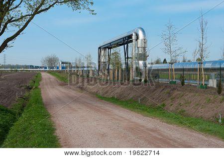 Pipeline Through Landscape
