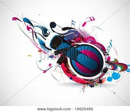 Vector Headphones Illustration
