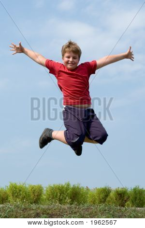 Boy Jumps