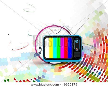 Vector Television Illustration