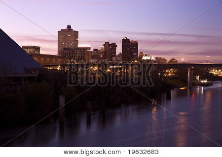 Downtown Memphis, Tennessee, Usa