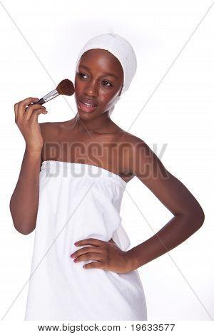 Bathroom Woman