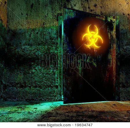 Bio Hazard Danger Material