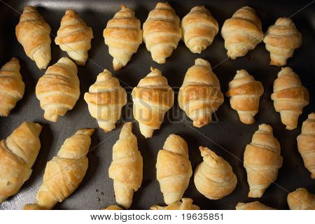 Tray of Croissants