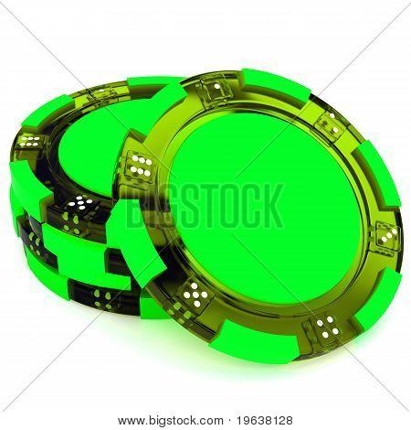 Glass Casino tokens