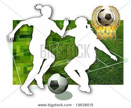 Meninas do futebol