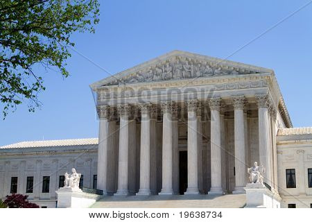 Usa Supreme Court Building