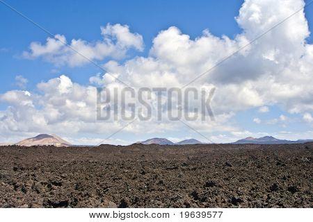 Paisaje volcánica