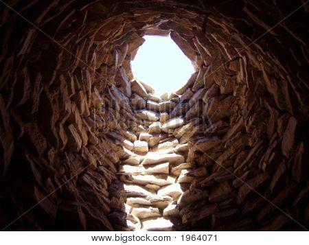 Inside A Tomb
